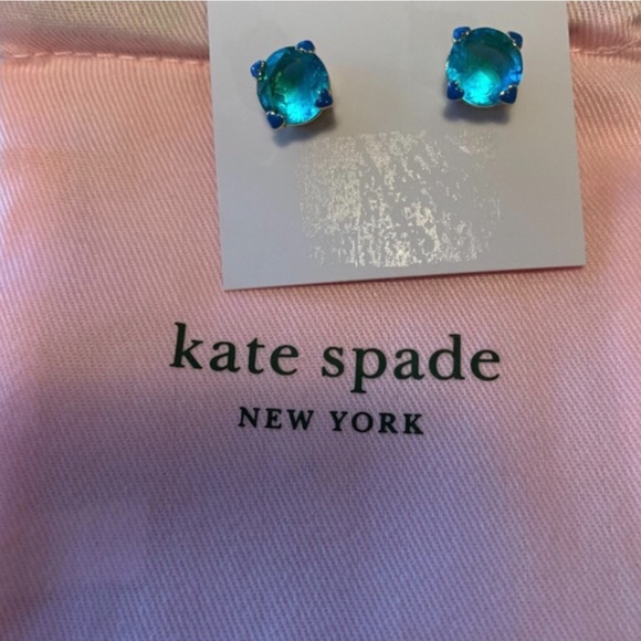 ♦️♦️Beautiful Kate Spade Mediterranean heart studs